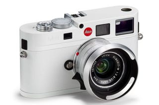 Illustration for article titled Leica's Limited-Edition White M8 Digital Is Beautiful