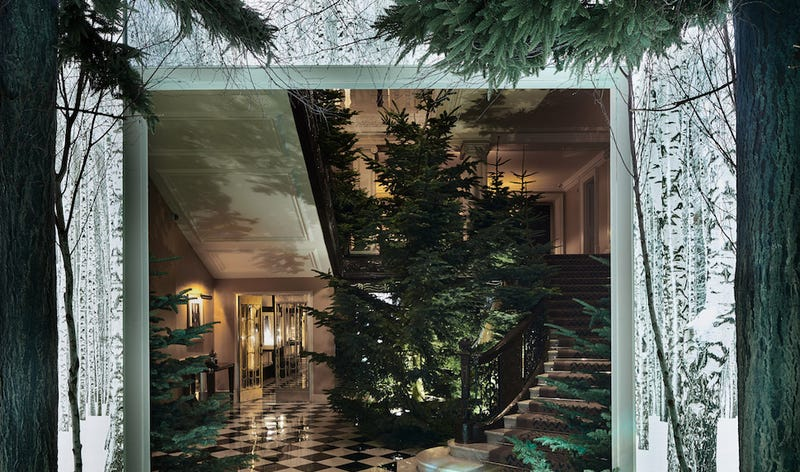 It's a tree (Image: Claridges)