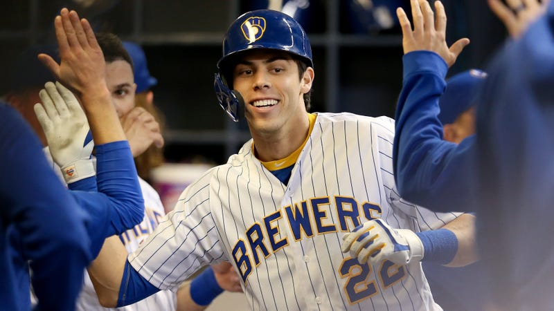 Christian Yelich Was One Foot Away From The Perfect Home Run