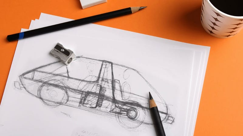 Illustration for article titled This Is One Of The Greatest Sketches In All Of Motoring