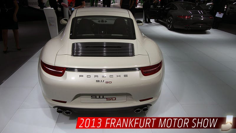 Illustration for article titled Buy A Porsche 911 50 Years Edition And Keep It For 50 Years