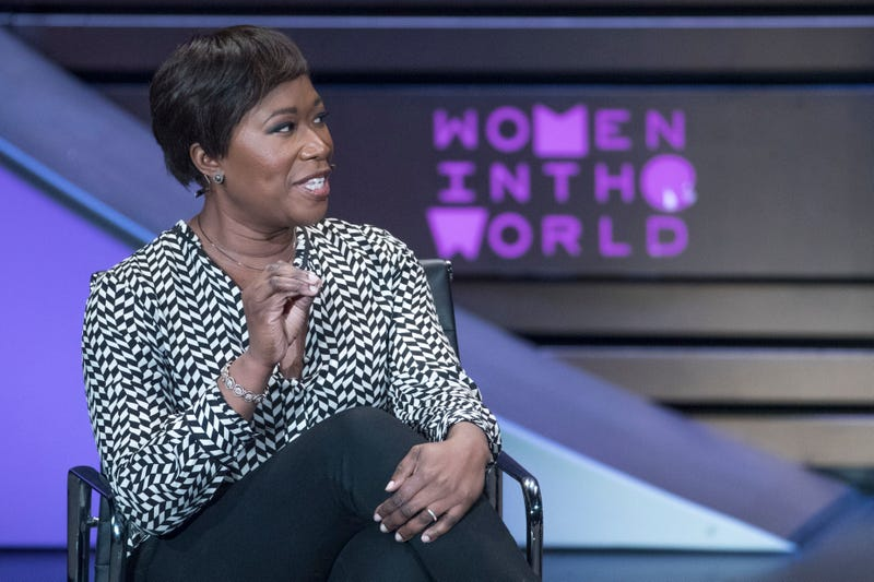 MSNBC host Joy-Ann Reid at the Women in the World Summit at Lincoln Center in New York City on April 6, 2017