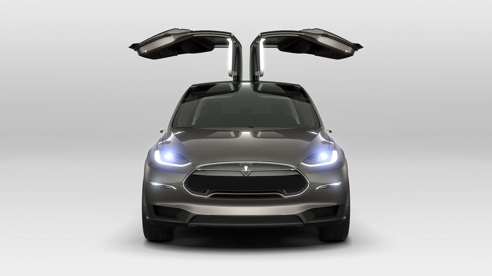 Yes, The Tesla Model X Will Have Those Crazy Falcon Doors