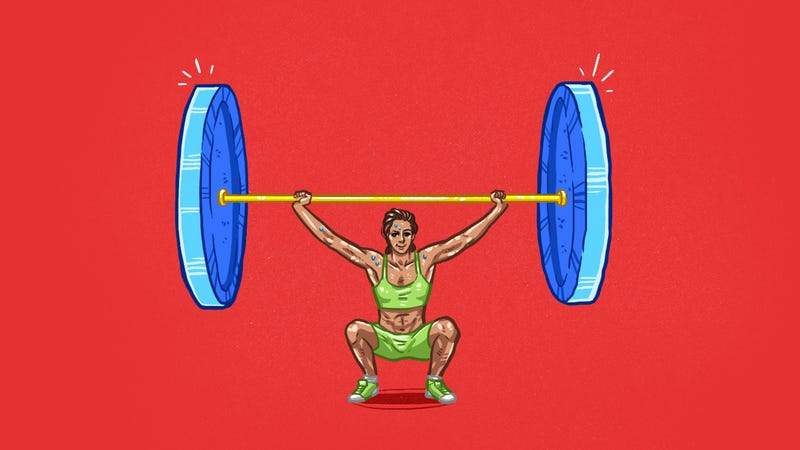 Illustration for article titled How to Minimize Your Risk of Injury When Lifting Heavier Weights