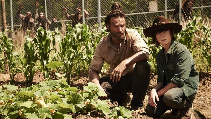 Ratings Roundup: Where is everybody? Holed up in a prison with The Walking Dead
