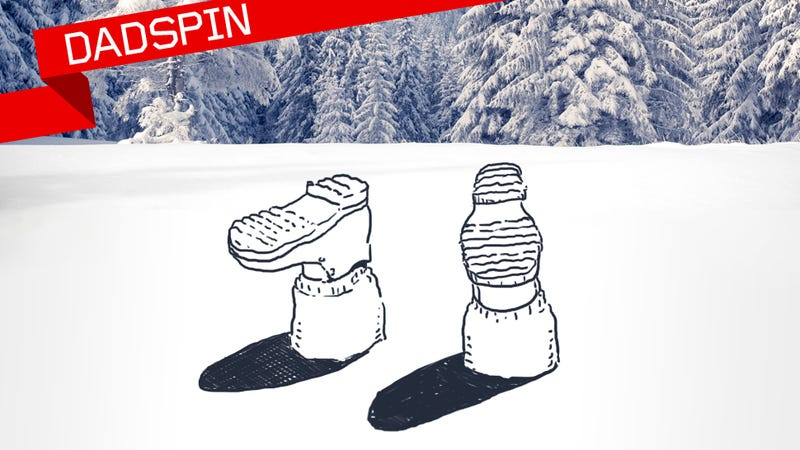 Illustration for article titled The Dadspin Guide To The American Snow Day