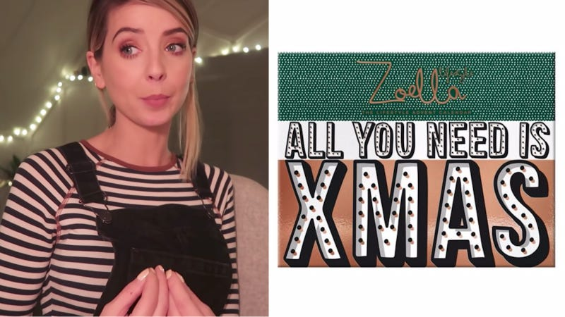 Surprise, surprise, Zoella's beauty calendar is now half price
