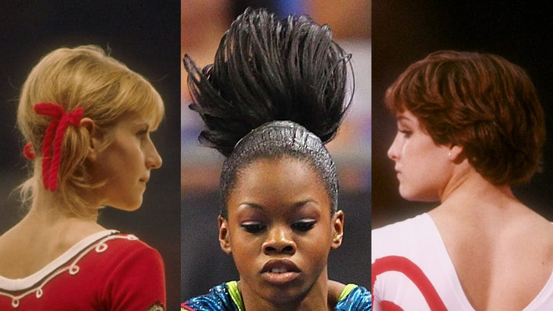 Hairstyles For Long Hair Gymnastics : Olympic Gymnast Hair: An Appreciation
