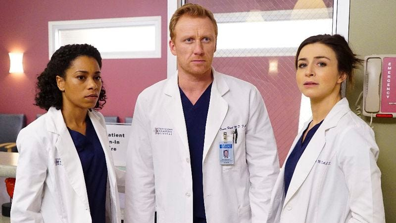 The always topical Grey\'s Anatomy tackles both gun control and ...