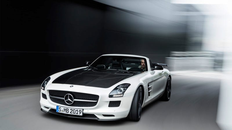 Illustration for article titled The New Mercedes-Benz SLS AMG GT Final Edition: The Ultimate Super Sports Car
