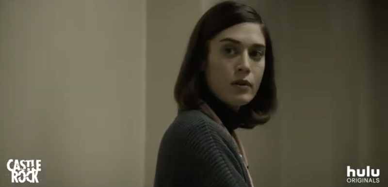 Lizzy Caplan as a young Annie Wilkes, the same character played by an Oscar-winning Kathy Bates in the movie version of Misery.