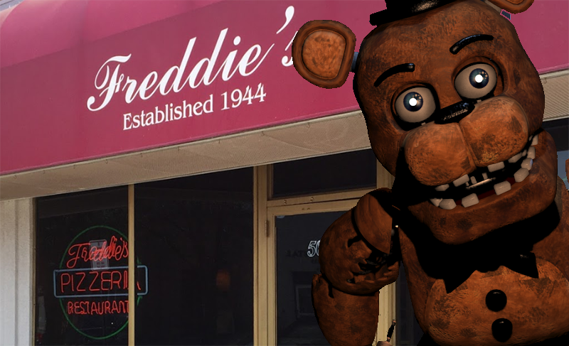 Innocent Pizzeria Besieged By Five Nights At Freddy's ...
