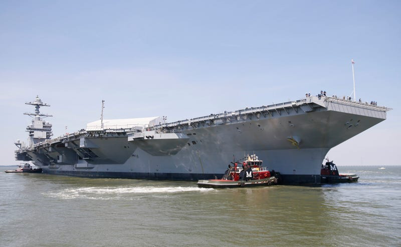 The World's Most Tricked Out Aircraft Carrier May Finally Be Commissioned This Year