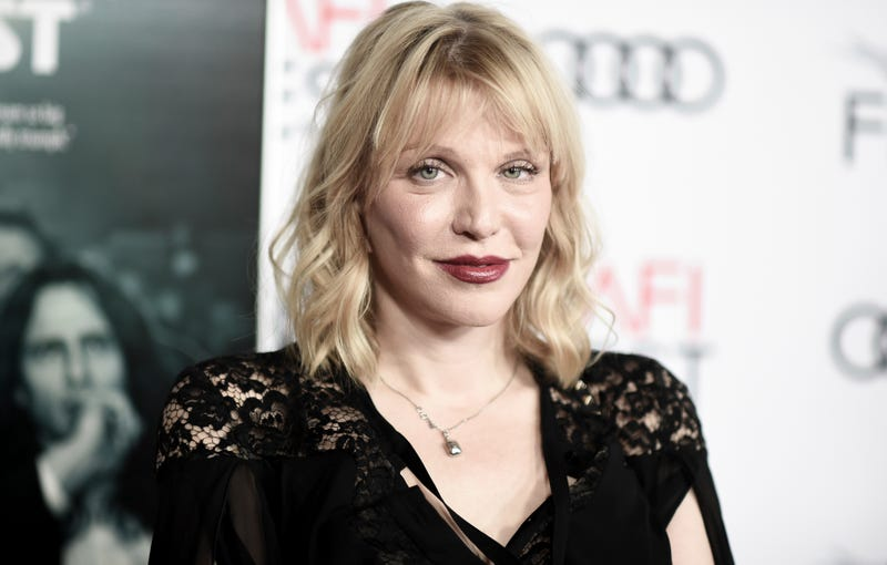 Illustration for article titled Courtney Love Is Being Sued by Her Daughter's Ex Over Alleged Plot to Have Him Killed Then Seize His Guitar