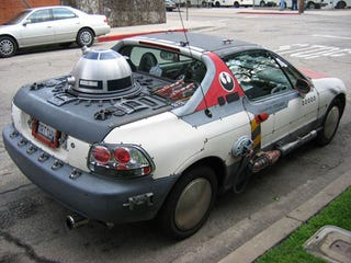 This Honda Del Sol Was Completely Converted Into A X Wing Starfighter From Star Wars Good Thing The Is Only Two Seater Because There Would Be No