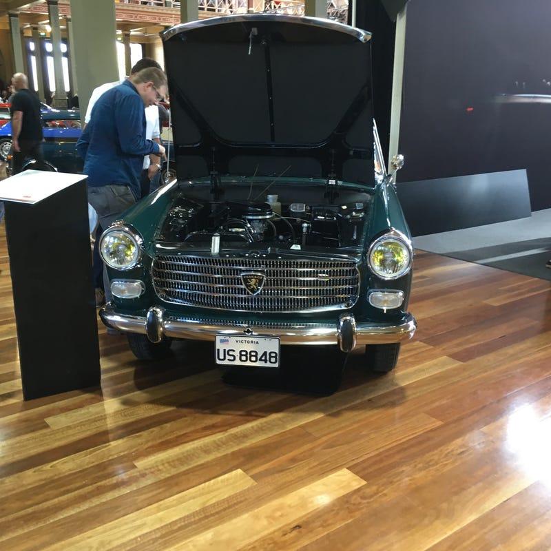 USA market Peugeot 404