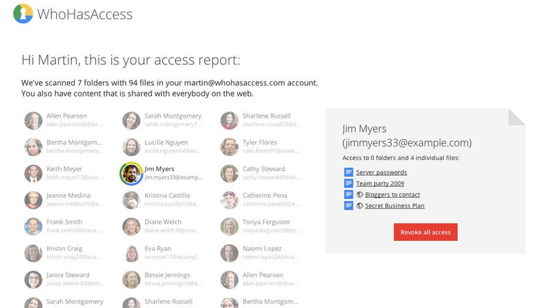 WhoHasAccess Shows You Who Still Has Permissions to Your Google Drive