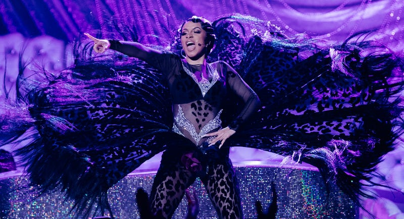 Cardi B performs onstage at the 61st annual GRAMMY Awards on February 10, 2019 in Los Angeles, California.