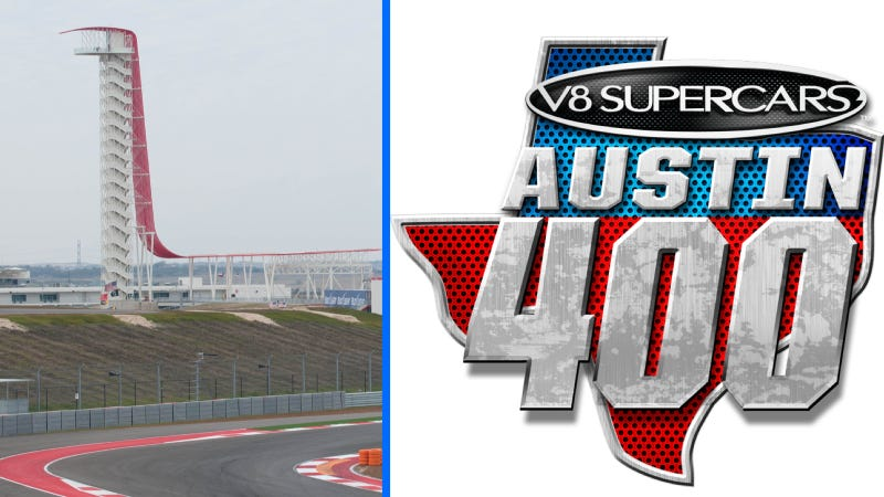 Illustration for article titled Texas' Australian V8 Supercars Race Will Be Called The Austin 400