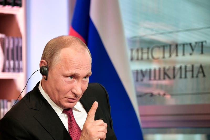 Image: Alexei Nikolsky/Sputnik, Kremlin Pool Photo via AP