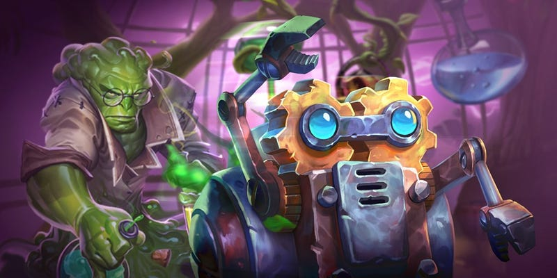 Illustration for article titled Hearthstone's New Single-Player Mode Is A Surprisingly Solid Puzzle Game