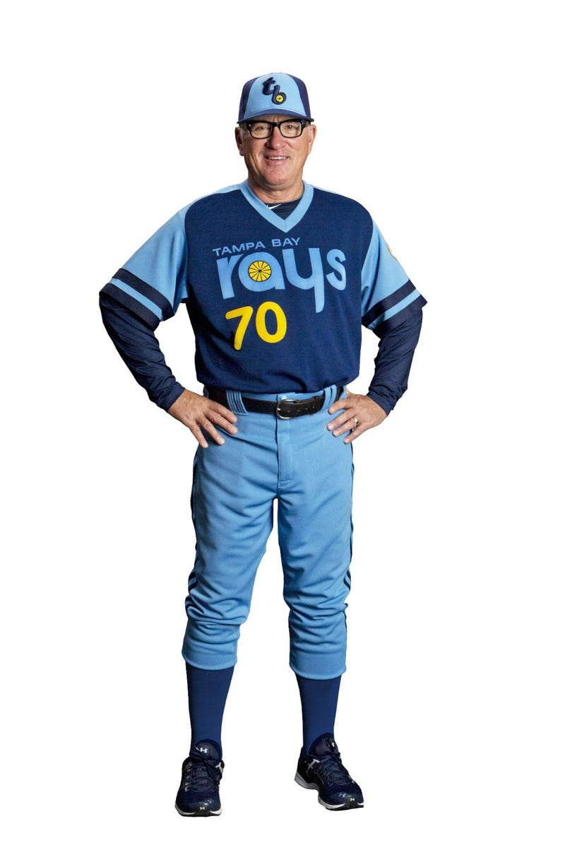 "Illustration for article titled Here's The Rays' 1979 ""Throwback"" Jersey"