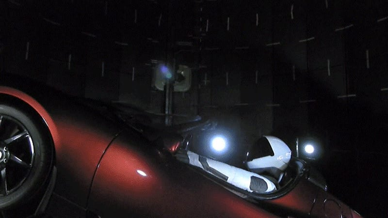 tesla car in space live. tesla car in space live