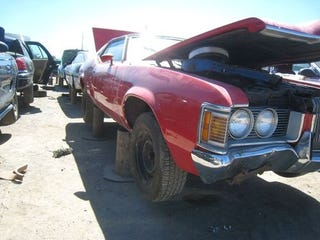 Illustration for article titled 1972 Mercury Cougar XR7 Down On The Junkyard