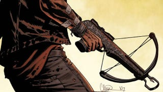 Illustration for article titled Daryl Dixon may bring his crossbow to the Walking Dead comics