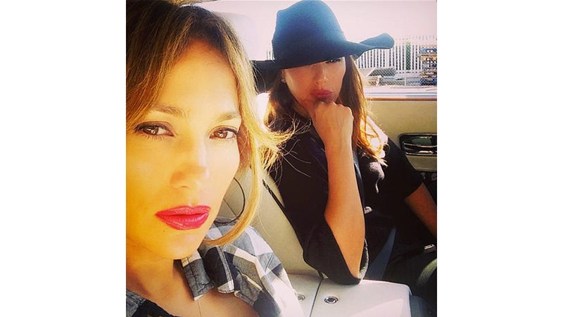 Illustration for article titled J. Lo Gets Rear-Ended By Drunk Driver, Curses That Fool Out