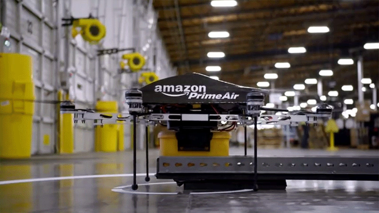 Amazon Promised Drone Delivery in Five Years... Five Years Ago