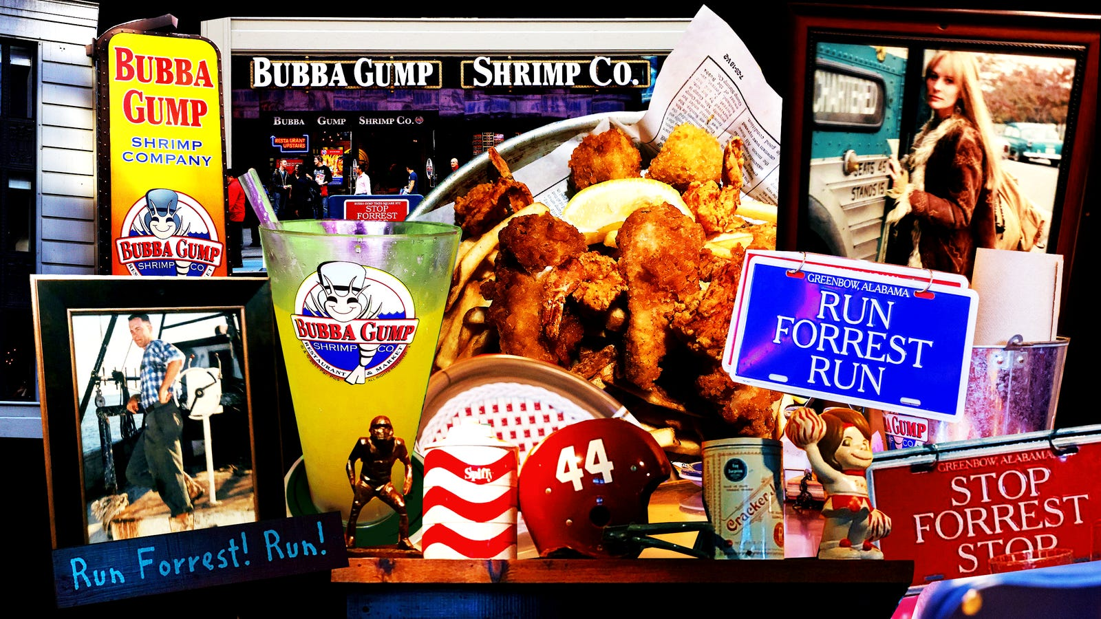 My Brilliant 3,000 Calorie Lunch at Bubba Gump In Times Square