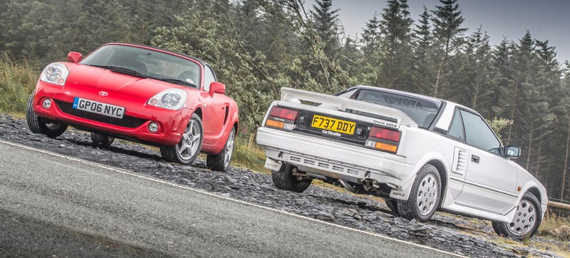 Illustration for article titled Toyota Tests Own Classic Sports Cars For Fun, Because Awesome