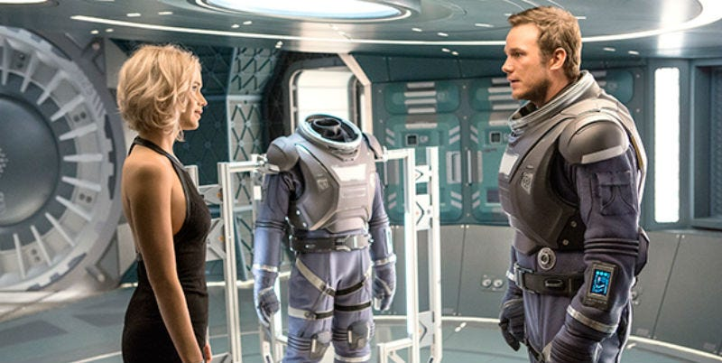 movie still from Passengers