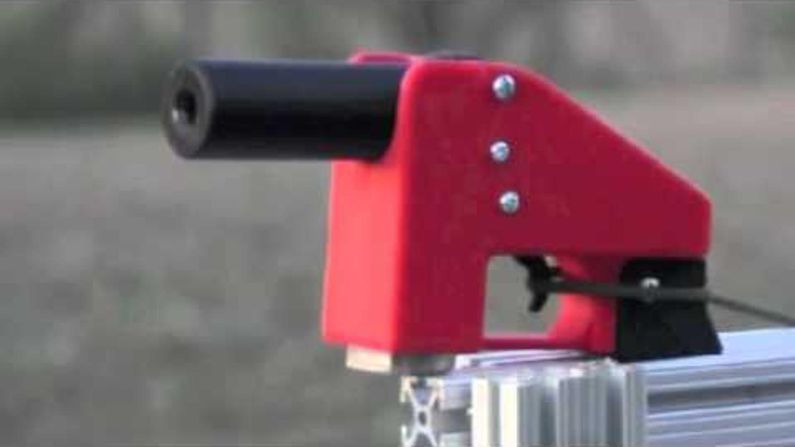 Esta pistola impresa en 3D es más barata y peligrosa que Liberator