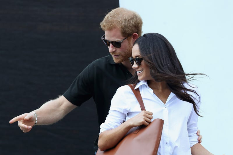 Prince Harry and Meghan Markle on Sept. 25, 2017, in Toronto (Chris Jackson/Getty Images for the Invictus Games Foundation)