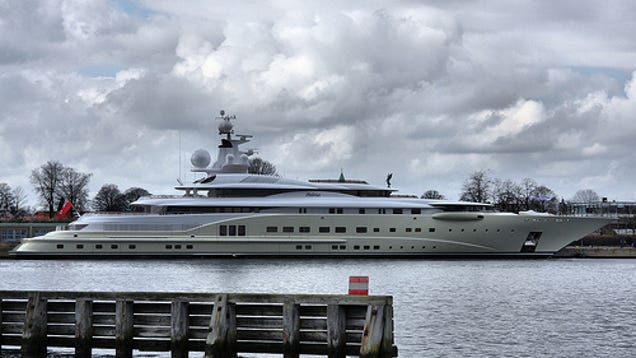 1 2 billion russian yacht comes equipped with laser