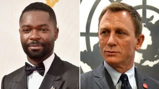 David Oyelowo; Daniel CraigAlberto E. Rodriguez/Getty Images; Timothy A. Clary/Getty Images