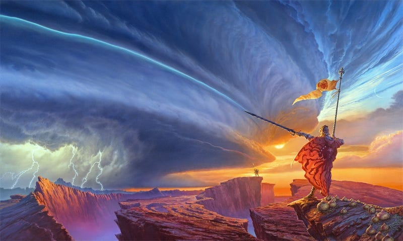 "Illustration for article titled Brandon Sanderson: ""We haven't hit what epic fantasy is capable of yet"""
