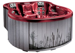 Illustration for article titled Amore Bay Is Most Hideous Hot Tub Ever Created