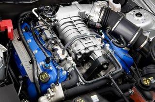 Illustration for article titled Superchaged Aluminum 5.4-liter V8