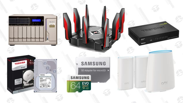 There's Something For Everyone in this Networking and Storage Gold Box