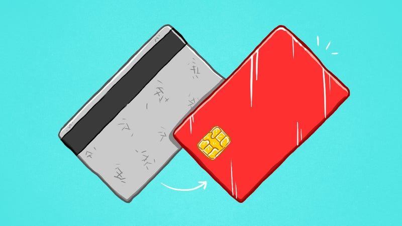 Illustration for article titled How the Newest Generation of Credit Cards Protects Your Information From Getting Stolen