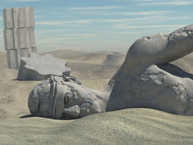 Illustration for article titled Ozymandias