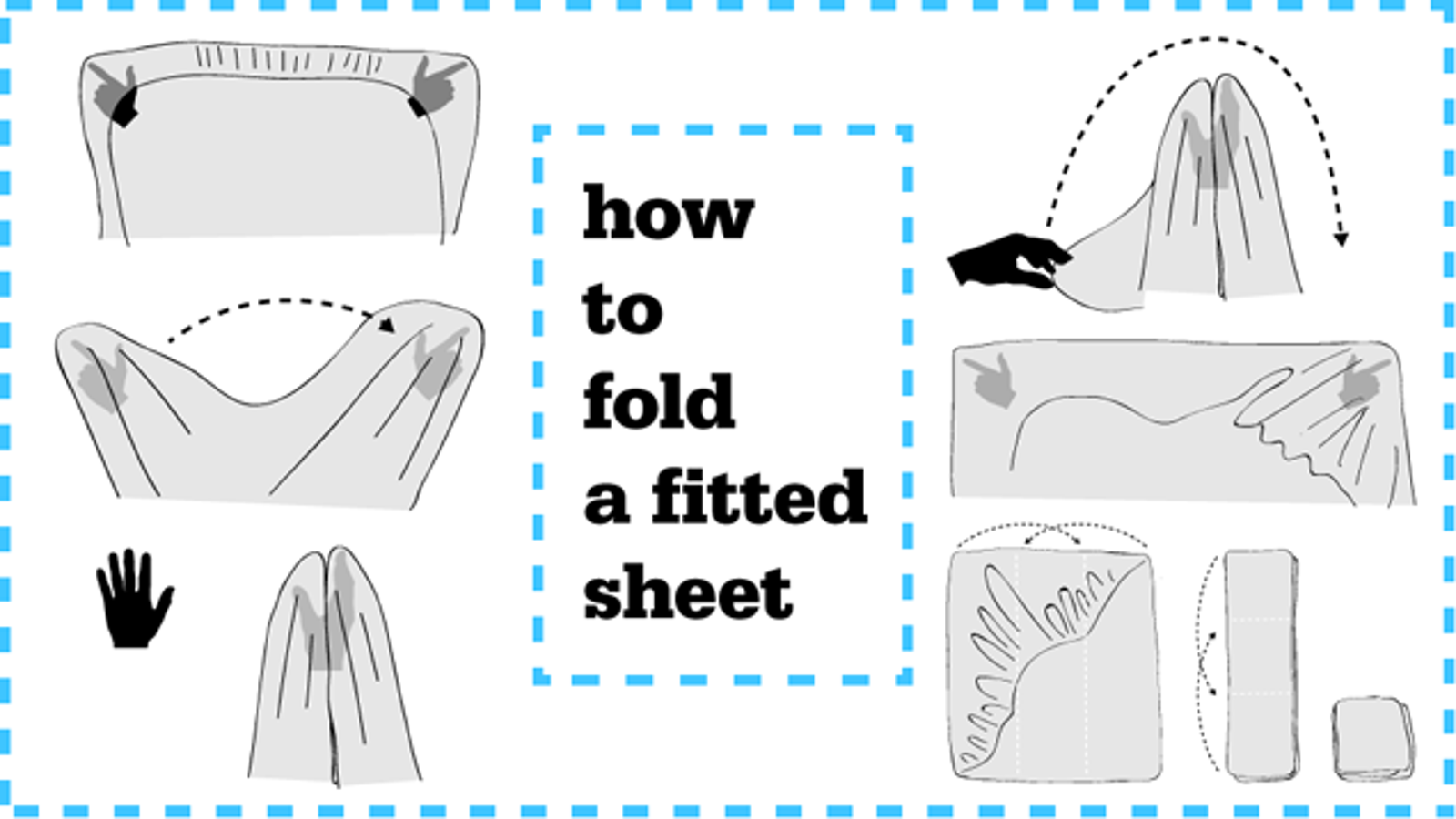 folding a fitted sheet Sorcery And Witchcraft: How To Fold A Fitted Sheet folding a fitted sheet