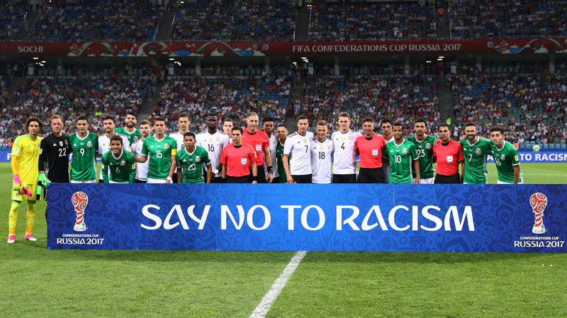 Illustration for article titled FIFA Puts A New, Useless Coat Of Paint On Its Anti-Racism Rules