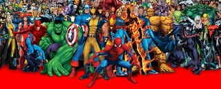 Illustration for article titled This map shows where the most famous Marvel characters are from