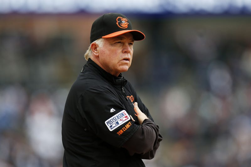 Illustration for article titled Buck Showalter Can't Stop Pushing The Right Buttons