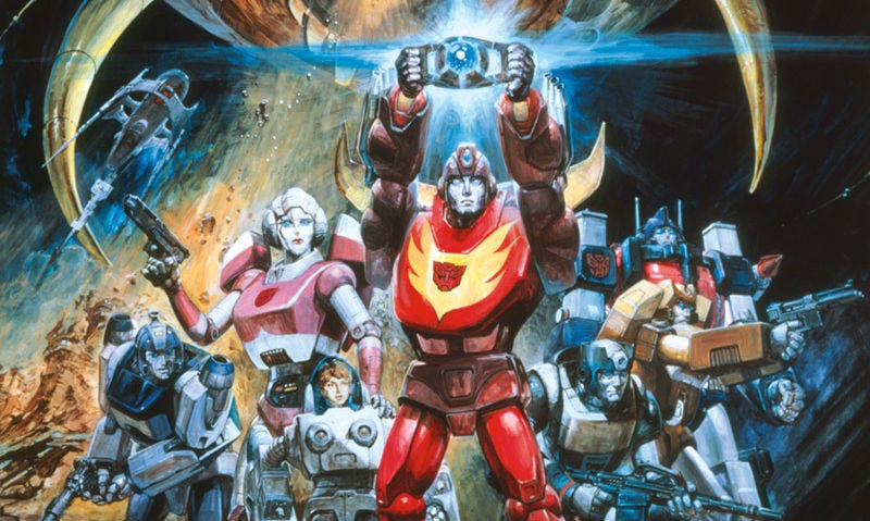 Transformers: The Movie. Image: Newsarama