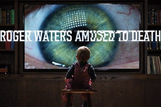 """Illustration for article titled Listen To This Album Again: Roger Waters, """"Amused to Death"""""""
